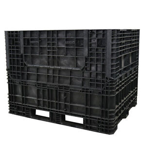 Duragreen 57 X 48 X 44 Extended Length Collapsible Bulk Container 2 Doors