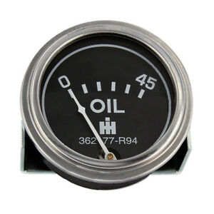 362177r94 New Oil Pressure Gauge For Case Ih Tractor 350 400 450 600 650 3616