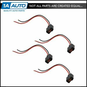 Fuel Injector Pigtail Harness Kit Set Of 4 For Chevy Mazda Ford Buick Hyundai