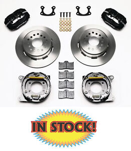 Wilwood 12 Rear Ford Disc Brake Kit With P Brake For Small Ford Rear 140 7143