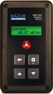 Geiger Counter Mazur Instruments Prm 7000 Only Authorized Ebay Reseller