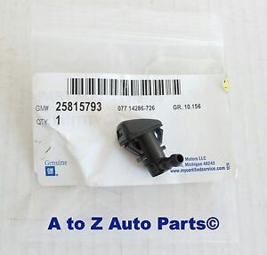 New 2008 2013 Cadillac Cts Windshield Washer Nozzle Oem Gm