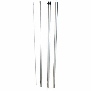 Spike And Pole Kit For 2 5 Windless Swooper Feather Banner Flag Ground Stake