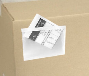 5 5x7 5 Clear Packing List Invoice Envelopes 5000 Qty 2 5 Mil 5x7