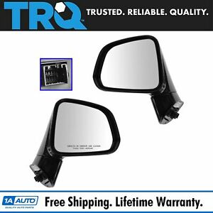 Mirror Power Heated Left Right Pair For Chevy Captiva Sport Saturn Vue