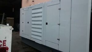 Detroit Diesel Used Generator 830 Kw 174 Hours New Enclosure Unit 1