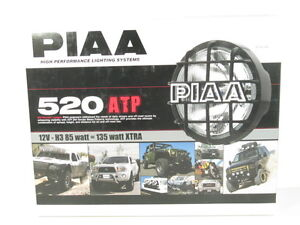 Piaa 520 Series Atp Xtreme White Plus Halogen Driving Lamp Kit Fog Lights 5296