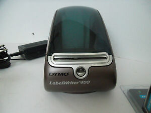 Dymo Labelwriter 400 Thermal Printer 300 Dpi Usb2 0 Compact 40 Lpm 93089 W rolls