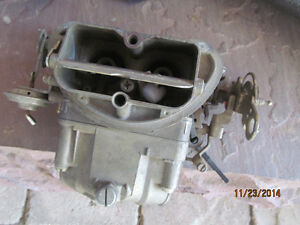 1967 Corvette Tri Power Center Carb Like Nos 691 Early Date Scarce Sept 66