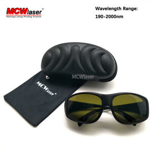 Od5 Ipl Laser 190nm 2000nm Laser Protective Goggles Wide Wavelength Protect Ce