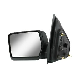 Power Mirror For 2004 2008 Ford F 150 Driver Side Textured Black Manual Folding