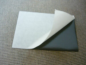 7 1 Flexible Magnet Sheet self Adhesive One Side Silicone Paper 4x6 10x15 Cm