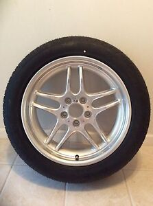 New One Bmw Wheel Tire Combo 18 Dunlop Sp Sport 2000