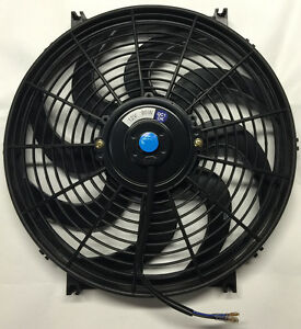 14 Inch Electric Universal Automotive Cooling Radiator Fan Hot Rod 12v Mounts