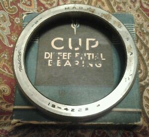 1932 36 Ford Truck Differential Cup Bearing 18 4222