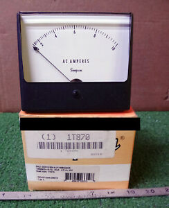 1 New Simpson 1t870 0 10 Analog Panel Meter make Offer