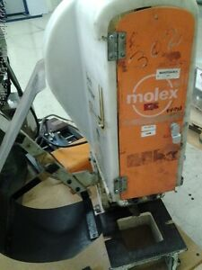 Molex Crimp Machine Model P4979a Partnumber 3bf 151