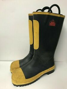 Black Diamond Protective Fire Fighter Boots 9302 Sizes Available 6 1 2w 15w