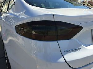 13 16 Ford Fusion Smoke Tail Light Precut Tint Cover Smoked Overlays