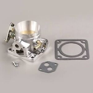 1986 1993 Mustang Or Cobra 5 0 75mm 75 Mm Power Show Polished Throttle Body