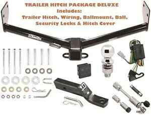 Trailer Hitch Fits 03 04 Honda Element Pkg Deluxe W Wiring Combo Locks