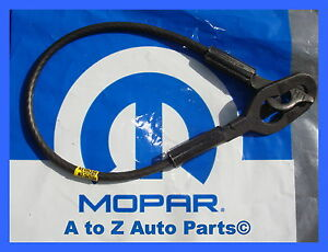 1994 2001 Dodge Ram 1500 3500 Tailgate Left Hand Support Cable Oem Mopar