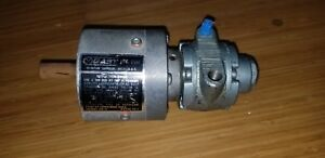 Gast Pneumatic Gear Motor Part 1 Am nrb 60 gr11 New Old Stock