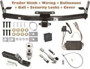 05 06 Chevy Equinox Trailer Tow Hitch Pkg Deluxe W Wiring Hitch Locks
