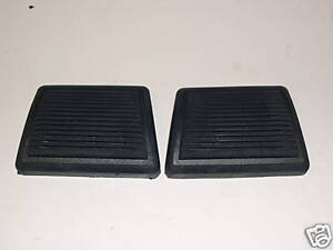 1964 72 Chevelle Clutch Brake Pedal Pads Exc Disc Brakes