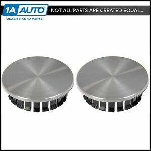 Dorman 909 013 Brand New Pair Center Wheel Hub Cap For Chevy Pontiac
