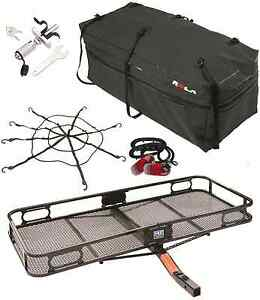 Pro Series Cargo Carrier Basket Rola Bag Net Silent Hitch Pin