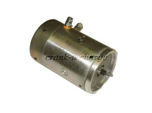New Dual Post Curtis Snow Plow Fenner Stone Pump Motor