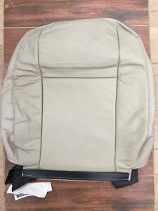 2005 2007 Ford Focus New Factory Original Front Upper Seat Cover Tan Leather