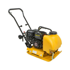6 5hp Gas Vibration Plate Compactor Walk Behind Tamper Rammer With Water Tank