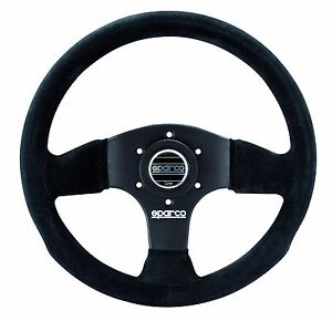 Sparco Racing P300 P 300 Suede Steering Wheel 300mm 11 8 Competition