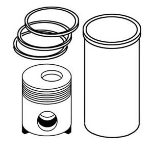 Piston Liner Kit Massey Ferguson Tractor To30 202 204 F40 To35 135 35 50