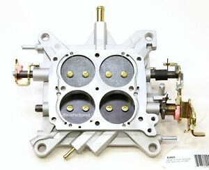 Aed 6460 Holley Carburetor Base Plate Double Pumper 650 800 2 Corner Idle