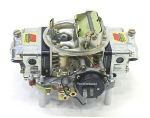 Aed 650ho Holley Double Pumper Carb Street Race Billet Electric Choke Bk