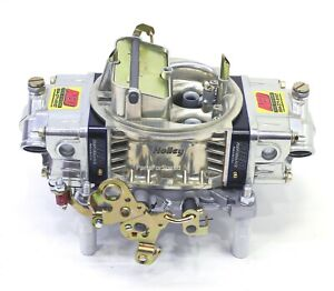 Aed 750ho Aluminum Holley Double Pumper Carb Electric Choke Street Strip Billet