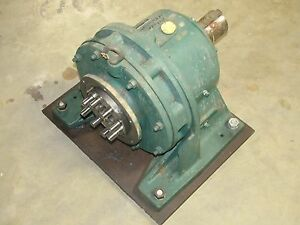 Sm cyclo Chhj4185dby187 187 1 In 6 06 Hp 1750 Rpm Speed Reducer Gearbox Rebuilt