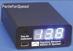Daytona Sensors Wego Iv Wideband O2 Afr Gauge Kit Data Logging