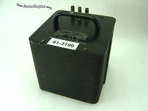 Used General Radio 1482 d Standard Inductor 500 h 0 1 Tested Good