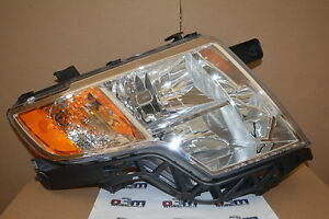 2007 2010 Ford Edge Rh Passenger Side Front Headlamp New Oem 7t4z 13008 A