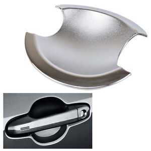 Fit For Toyota Camry 2012 2014 Chrome Door Handle Bowl Cover Cup Trim Insert