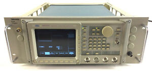 Sony Tektronix Awg2021 Arbitrary Waveform Generator With Rack Adapter 250 Ms s