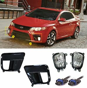 Genuine Fog Light Cover Wiring For 2010 2012 Kia Forte Cerato Koup 4 Zone