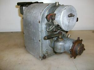 Magneto Systeme M m Lumen French Magneto Old Tractor Car Truck Gas Engine Mag