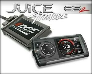 Edge Juice With Attitude Cs 2 Monitor For 03 07 Ford Powerstroke 6 0l 11401