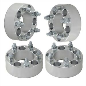 4x 2 Wheel Spacers Adapters 5x4 5 Fits Jeep Wrangler Tj Yj Xj Kj Kk Zj Mj