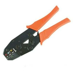 9 Ratchet Terminal Crimper Crimping Pliers Electrical Wire Stripping Tool